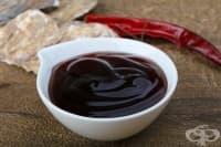 Кисело-сладък сос от диня (за салати, месо и риба)