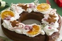 Празничен кекс за Коледа