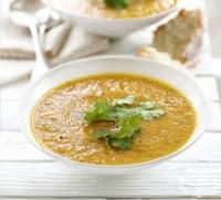 Крем-супа с моркови и кориандър