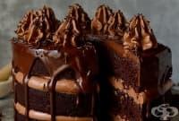 Лешникова торта с шоколад и еспресо