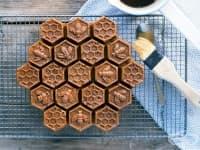 Домашен кекс с мед и кафе