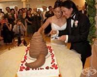Най-ужасните сватбени торти по света