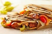 Сандвич с пилешко и зеленчуци