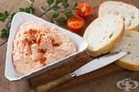Сандвичи с извара, домати и чесън