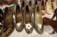 Шоколадови дизайнерски обувки