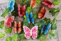 Как да си направим шоколадови пеперуди за украса на десерти