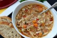 Сицилианска пилешка супа