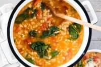 Супа с боб и ечемик