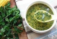 Супа с моринга и царевица