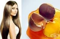Направете си домашен шампоан от желатин и жълтъци