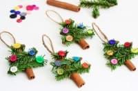 Направете си екологична коледна украса от канелени пръчици