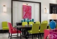Как да комбинираме цветовете у дома?