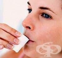 Жабурете се със сусамово масло против възпаление на венците