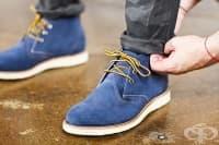 Как да почистим велурените обувки?