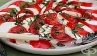Използвайте 3 трика за бързо приготвяне на салата Капрезе