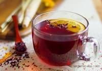 Консумирайте чай от хибискус, портокал и лимонова трева срещу грип и настинка