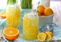 Консумирайте напитка от лимон и портокал срещу анемия