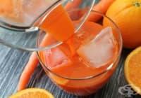 Консумирайте напитка от моркови и портокал срещу махмурлук