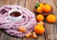 Намалете стреса и напрежението с чай от лайка, мандарина и валериана