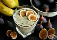 Направете си енергийна напитка от банан и смокини