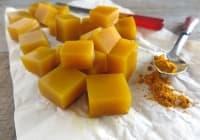 Направете си противовъзпалителни желирани кубчета от мед и куркума