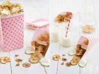 Направете си здравословен чипс от плодове и зеленчуци