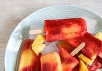 Направете си здравословен сладолед от ягоди и ананас