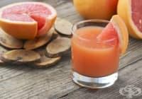 Насърчете изгарянето на излишни мазнини с напитка от мед, оцет и грейпфрут