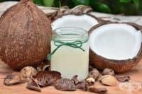 Елиминирайте плаката и бактериите чрез жабурене с кокосово масло