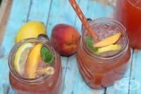 Пийте чай от праскови срещу запек, киселини, сърцебиене и нисък хемоглобин
