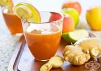Преборете умората с напитка от ябълка и морков