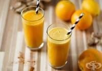 Пречистете черния дроб с напитка от портокал и джинджифил