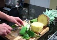 Пречистете стомашно-чревния тракт с ябълка, ананас и алое вера