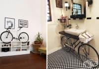 Превърнете стария велосипед в атрактивна декорация за дома