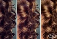 Придайте шоколадов нюанс на кестенявата коса с розмарин и градински чай