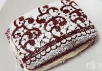 Използвайте дантела, за да декорирате любимия десерт