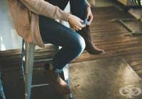 Пъхнете памук в обувката си, ако имате мазол или ви миришат краката