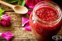 Подобрете храносмилането със сладко от рози