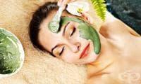 Направете си маска за лице от спирулина, банан и лимон