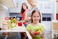 Научете детето на 5 здравословни навика на хранене