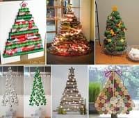 Украсете дома си с коледна елха от екологични материали