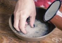 Възстановете сухата и увредена коса с тоник от оризова вода