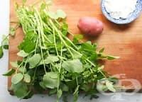 За да имат детоксикиращ ефект, подправяйте с кресон салатите и супите