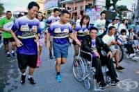 Мини-маратонът Run2gether е посветен на хората с увреждания