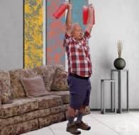 Домашна кондиционна тренировка за хора над 60 години
