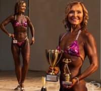 На 62 години, доктор Мими Секор направи своя дебют в бодибилдинга