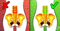 5-минутна тренировка за облекчаване на силните болки в долната част на гърба
