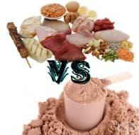 Високопротеинови храни срещу протеин на прах – научната гледна точка