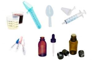 Преобразуване на лъжици и капки в милилитри при течните лекарствени форми
