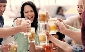 Честата употреба на алкохол на младини изменя мозъчната дейност